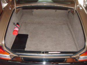 Le coffre permet d'engloutir facilement tous les bagages d'une famille