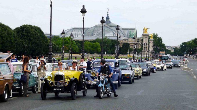 Traversée de Paris estivale